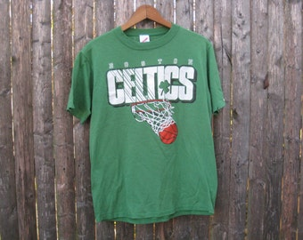 Vintage Boston Celtics Tshirt Mens Medium