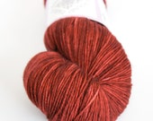 Hand-dyed fingering weight yarn   Round Table Yarns Gawain in Lanval