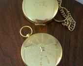 Custom engraved Compass,