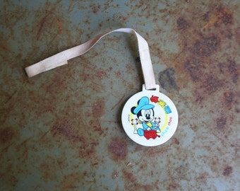 Vintage Mickey Mouse Pacifier Clip