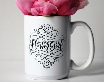 Mug - Flower girl