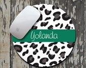 CHEETAH Personalized Mouse Pad, Personalized Mousepad, Monogrammed Mouse Pad, Monogrammed Mousepad, Custom Mouse Pad, Custom Mousepad