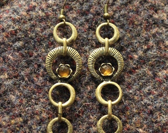 Unique Upcycled Vintage Earrings