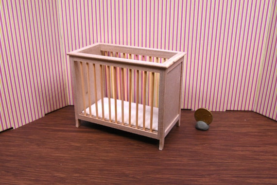 miniatur puppenhaus m bel unerledigte kinderbett code. Black Bedroom Furniture Sets. Home Design Ideas