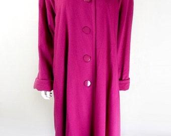 Vintage pink coat | Etsy