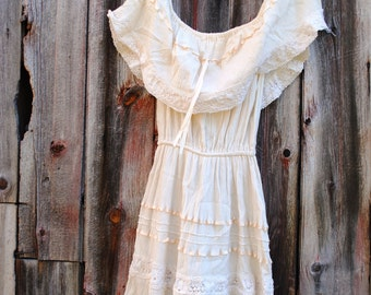 Vintage Mexican Wedding Dress