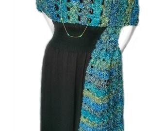 Crochet Pattern - Coraline in Rome Oversized Super Scarf Crochet Pattern - Written Pattern PDF