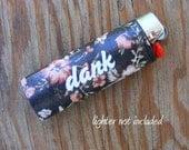 Dank Vinyl Sticker for Lighter, lighter wrap, lighter sticker, lighter cover, weed, smoking