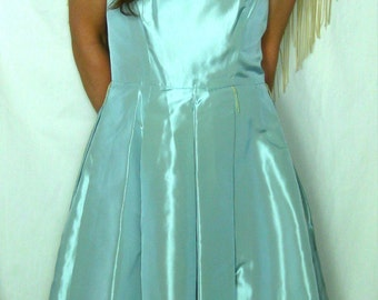 Vintage Liz Claiborne Formal Powder Blue Dress