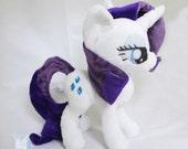 My Little Pony Rarity Plush plushie