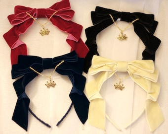 Made to Order: Regal Velvet Bow
