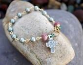 Celtic Rosary Bracelet