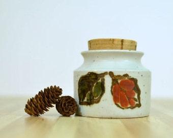 Vintage Japanese Otagiri Mercantile Company OMC Corked Ceramic Jar