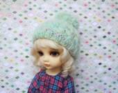 PomPom! (Sweet Green) - YoSD hat