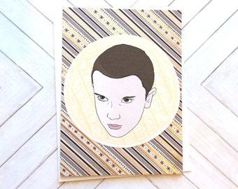 SALE! Eleven Card (Stripes)