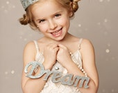 Ready to Ship || Sienna Tall  || full size gold lace crown || Child-Adult || custom sizes || WASHABLE || Love Crush Exclusive