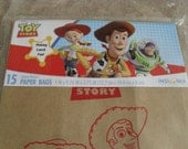 Toy Story Paper Bags Lunch or Party Favor Bags