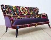Suzani 3-seater sofa - Fall