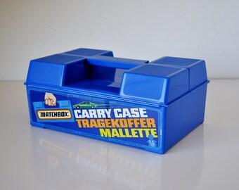 Vintage Matchbox Car Carry Case