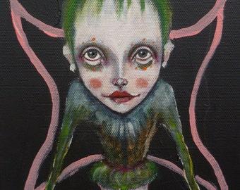 Original,girl,portrait,painting,art