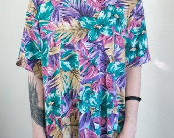 tropical mom shirt - 2X