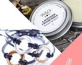 Valentine's Day Endless Package for Wife, for BFF, for Couples, Infinity Bracelet, Natural Lip Balm, Love Package, Valentine's Care Package