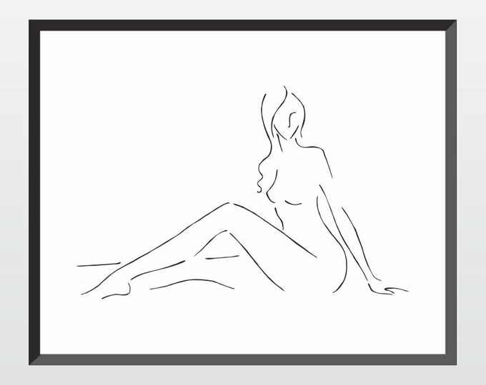 how to draw nude girl № 62921