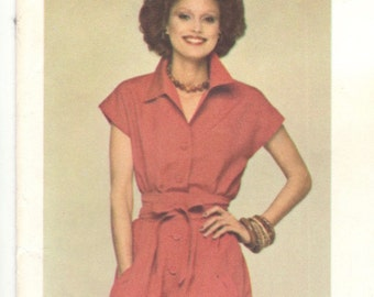Nina Ricci shirt dress pattern -- Vogue Paris Original 1245