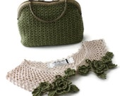 Crochet Bag - Crochet Collar - Custom Order - Lori Hall