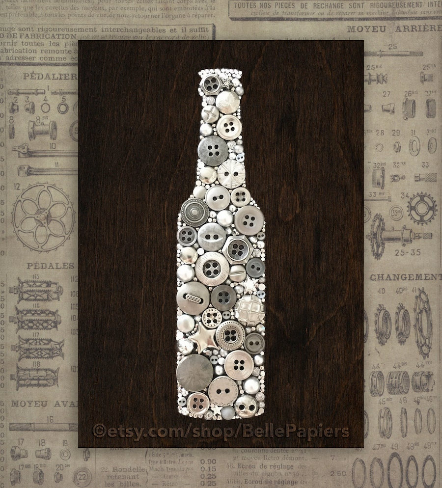 Kitchen Decor Beer Wall Hanging Wooden Sign Beer Decor Garage