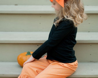 Large Monogrammed Hairbows - All Colors Available - Preppy Hairbow - Tailgate - Halloween Hairbow