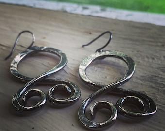 Viking Symbol Jewelry - Troll Cross - Earrings - Viking Wedding - Women Viking - Viking Jewelry for Women - Norse Jewelry for Women - Pagan