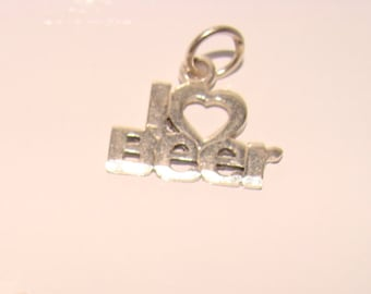 Party Sterling Silver Charm, Friend's Key Ring Charm