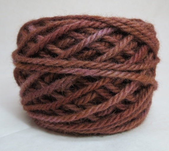 MINK, 100% Wool, 2 Ozs. 43 yards, 4-Ply, Bulky weight and 3-ply worsted weight yarn, already wound into cakes, ready to use, made to order