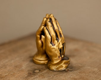 Vintage Praying Hands Salt and Pepper Shakers