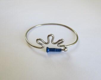 Bicycle Spoke Bracelet , Bicycle Jewelry , Recycled Bicycle Jewelry , Sports ,  Sun Jewelry