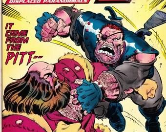 Vintage Comic Book DP7 Number 20 June 1988 Marvel New Universe, Fantasy, Adventure, Displaced Paranormals, Super Heroes, Villains, Pitbull