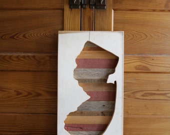 reclaimed wood jersey cutout [inverse]