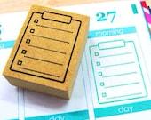 Rubber stamp for your Filofax, Hobonichi techo,Erin Condren life planner, KikkiK , and calendar. Japanese style no.20