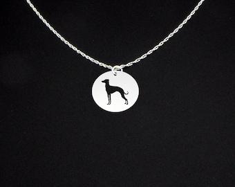 Italian Greyhound Necklace - Greyhound Gift - Greyhound Jewelry