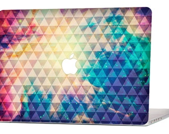 "Apple Macbook Air 11"" 13"" Decal Skin Cover and Apple Macbook Pro Retina 12"" 13"" 15"" Decal Skin Cover - Galaxy Tribal Pattern"