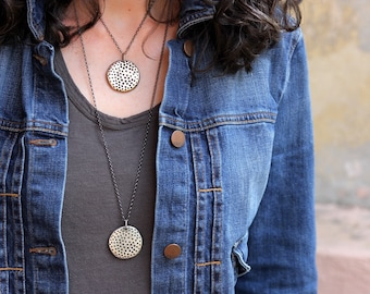 Bronze Star Studded pendant