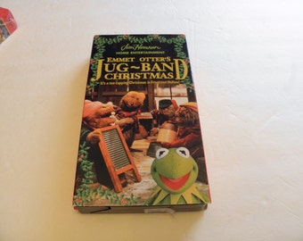 Jim Henson's Jug ~ Band Christmas Hollowtown VHS Video Tape