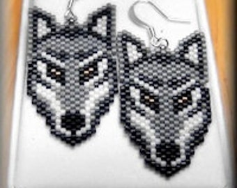Wolf Earrings - Western Oregon University