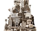 Tower of Seattle - Art Pr...