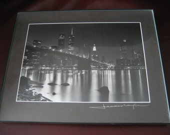 framed twin towers etsy