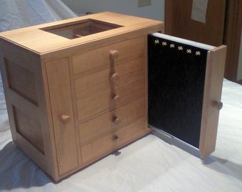 Cherry jewelry display box