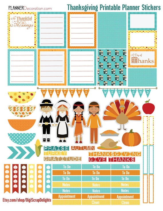 Adaptable image within happy planner free printable stickers