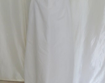 Vintage 50s wedding slip, petticoat, crinoline slip, Sydney Bush Original