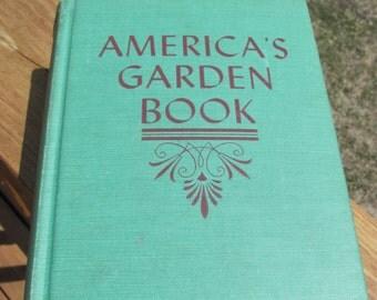 Vintage America's Garden Book, Gardening Book